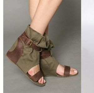 80%20 Molly Open Toe Fabric Wedges